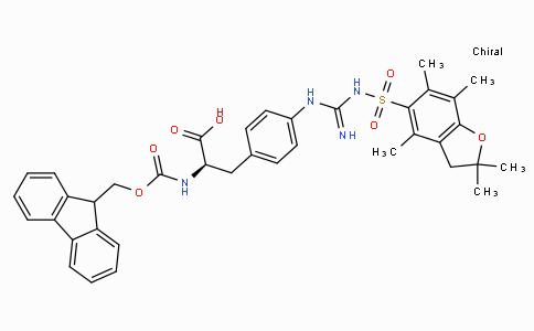 Fmoc-D-(4,( Pbf)-guanido)Phe-OH
