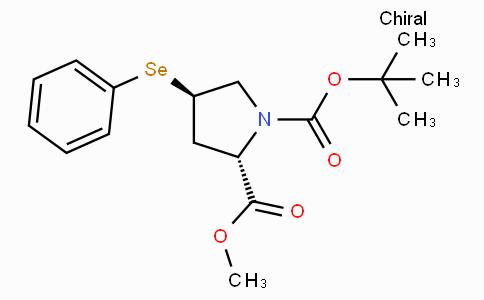 (2S,4R)-1-tert-Butyl 2-methyl 4-(phenylselanyl)pyrrolidine-1,2-dicarboxylate