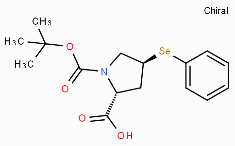 (2R,4S)-1-(tert-Butoxycarbonyl)-4-(phenylselanyl)pyrrolidine-2-carboxylic acid