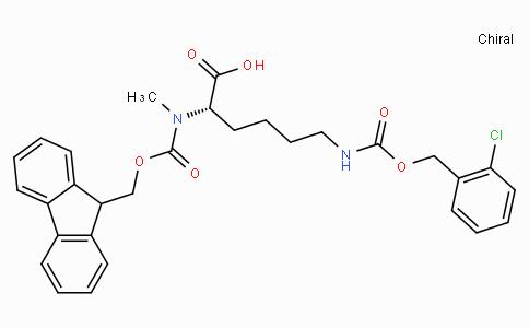 Fmoc-N-Me-Lys(2-Cl-Z)-OH