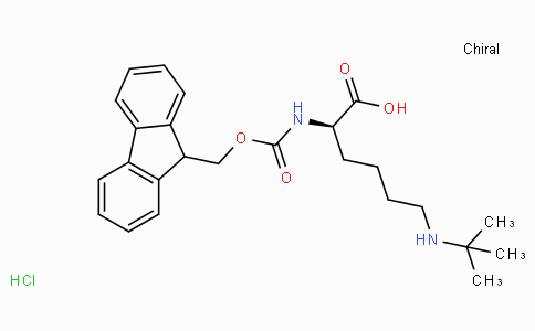 Fmoc-D-Lys(tBu)-OH.HCl