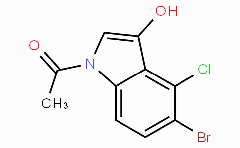 1-Acetyl-5-bromo-4-chloro-1H-indol-3-ol