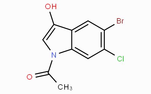 1-Acetyl-5-bromo-6-chloro-1H-indol-3-ol