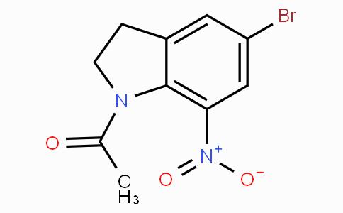 1-Acetyl-5-bromo-7-nitro-2,3-dihydro-1H-indole