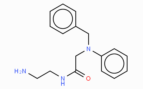 N-(2-Aminoethyl)-2-(benzylphenylamino)acetamide · maleate
