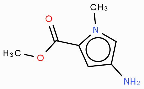 4-Amino-1-methyl-1H-pyrrole-2-carboxylic acid-methyl ester · HCl