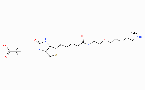 N-Biotinyl-3,6-dioxa-1,8-octanediamine trifluoroacetate salt