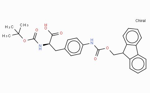 Boc-p-amino-D-Phe(Fmoc)-OH