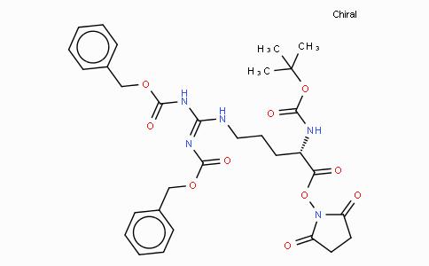 Boc-Arg(Z)₂-OSu