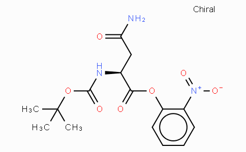 Boc-Asn-o-nitrophenyl ester