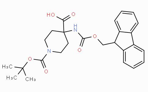 1-Boc-4-(Fmoc-amino)-piperidine-4-carboxylic acid
