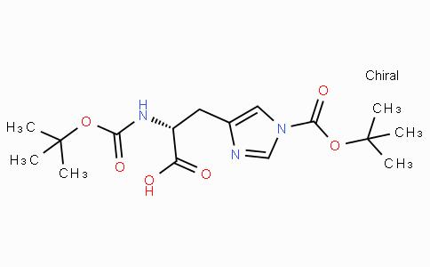 Boc-D-His(Boc)-OH benzene solvate