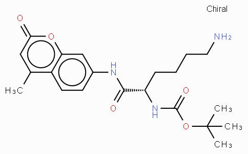 Boc-Lys-AMC acetate salt