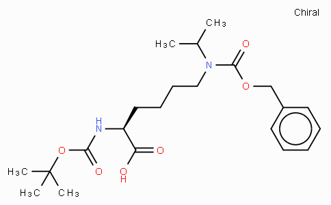 Boc-Lys(Z)(isopropyl)-OH (oil)