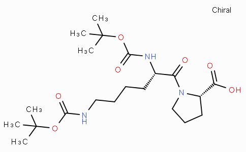 Boc-Lys(Boc)-Pro-OH
