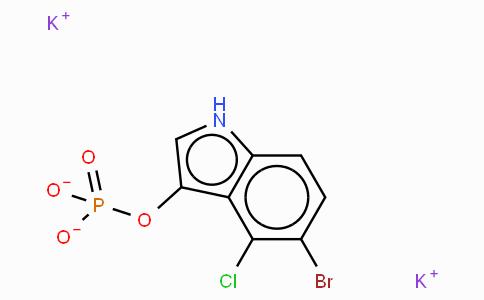5-Bromo-4-chloro-1H-indol-3-yl phosphate · dipotassium salt