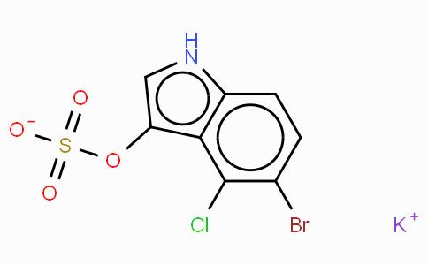 5-Bromo-4-chloro-1H-indol-3-yl sulfate · potassium salt