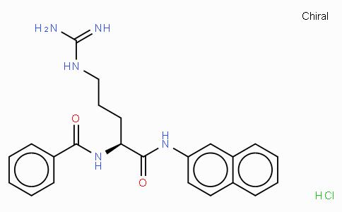 Bz-Arg-βNA · HCl