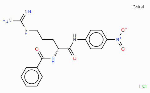 Bz-D-Arg-pNA · HCl