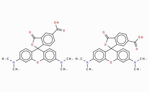 5(6)-Carboxy-tetramethylrhodamine