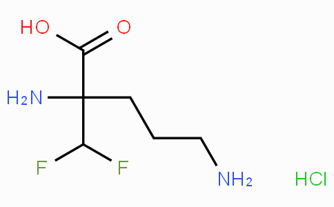H-α-Difluoro-Me-DL-Orn-OH · HCl · H₂O