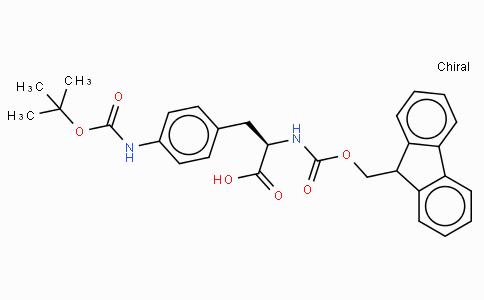 Fmoc-p-amino-Phe(Boc)-OH
