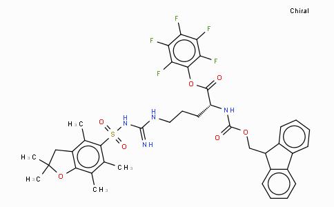 Fmoc-D-Arg(Pbf)-OPfp