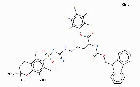 Fmoc-D-Arg(Pmc)-OPfp