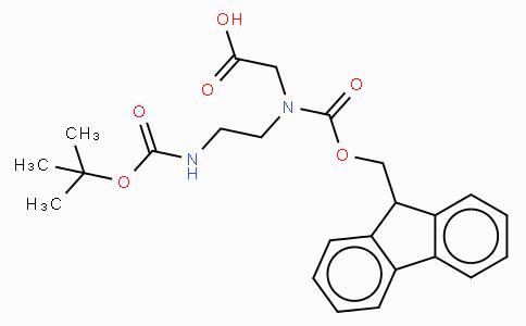 Fmoc-N-(N-β-Boc-aminoethyl)-Gly-OH