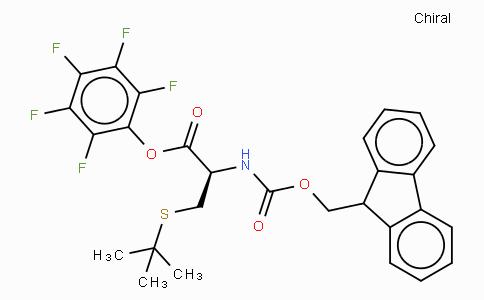 Fmoc-Cys(tBu)-OPfp