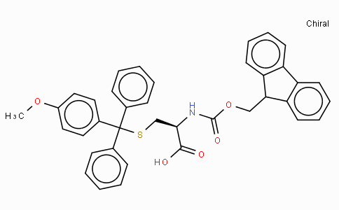 Fmoc-D-Cys(4-methoxytrityl)-OH