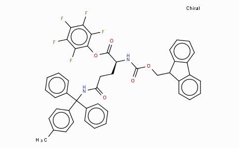 Fmoc-Gln(Mtt)-OPfp