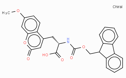 Fmoc-β-(7-methoxy-coumarin-4-yl)-Ala-OH