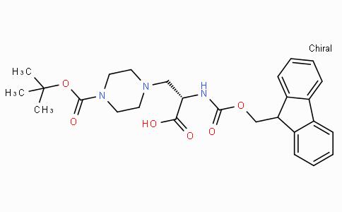 Fmoc-β-(1-piperazinyl)-Ala(Boc)-OH