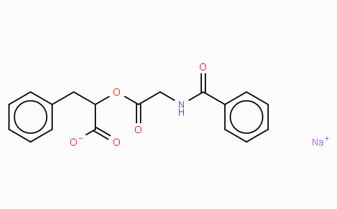 O-Hippuryl-DL-β-phenyllactic acid · sodium salt