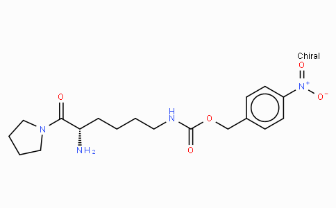 H-Lys(4-nitro-Z)-pyrrolidide · HCl