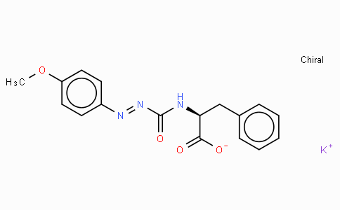 N-(4-Methoxyphenylazoformyl)-Phe-OH · potassium salt