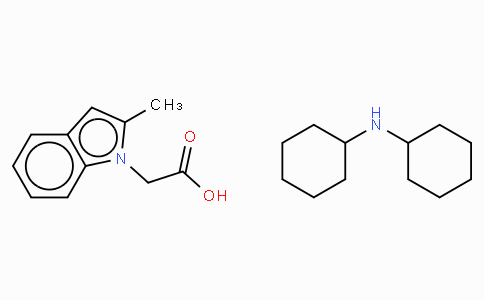 (2-Methylindol-1-yl)acetic acid  · DCHA