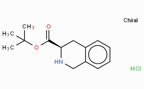D-1,2,3,4-Tetrahydroisoquinoline-3-carboxylic acid-t-butyl ester · HCl