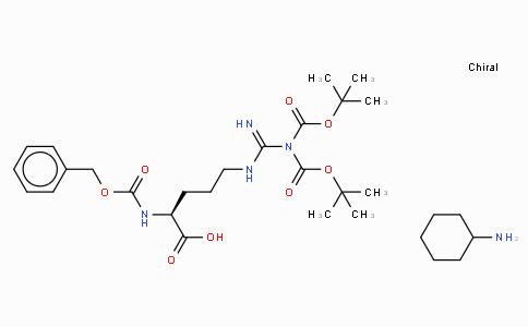 Z-Arg(Boc)₂-OH · CHA