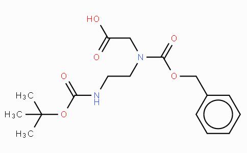 Z-N-(N-β-Boc-aminoethyl)-Gly-OH