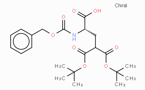 Z-γ-carboxy-Glu(OtBu)₂-OH