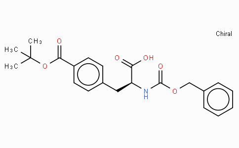 Z-p-carboxy-Phe(OtBu)-OH