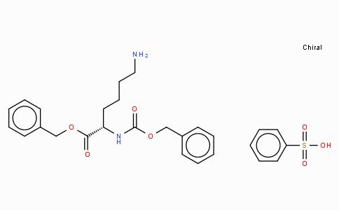 Z-Lys-OBzl · benzenesulfonate