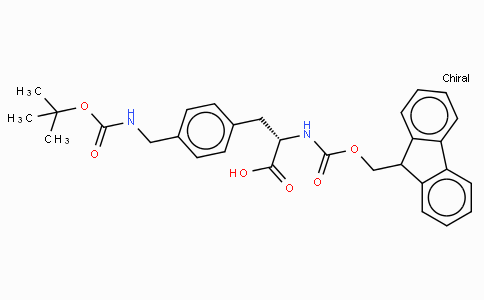 Fmoc-L-4-Aminomethylphe(Boc)