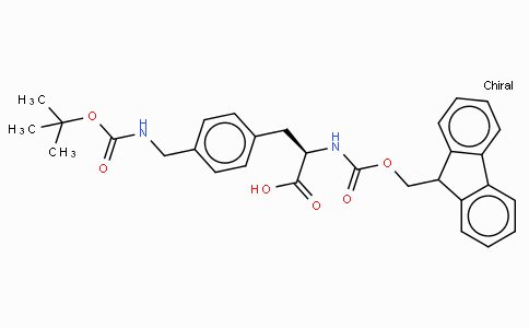 Fmoc-D-4-Aminomethylphe(Boc)