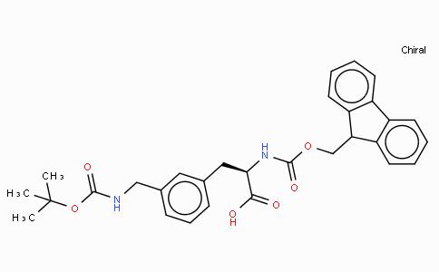Fmoc-D-3-Aminomethylphe(Boc)