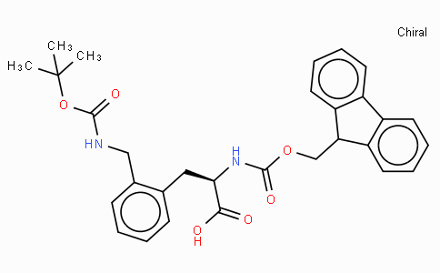 Fmoc-D-2-Aminomethylphe(Boc)