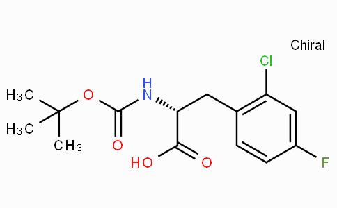 Boc-D-2-Chloro-4-fluorophenylalanine