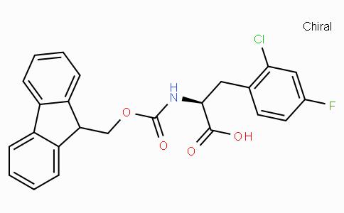 Fmoc-L-2-Chloro-4-fluorophenylalanine